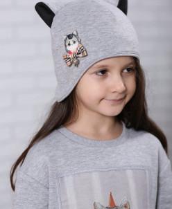 "Шапка-шлем для девочки ""Кэтти"""