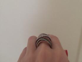 кольцо с драгоценными корнями
