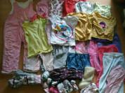 Большой пакет одежды девочке 0-3г