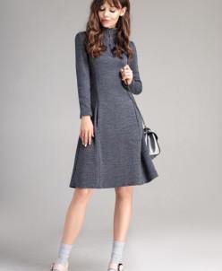 Р1116 платье   Цвет: серый