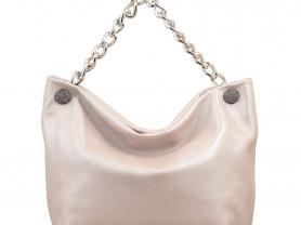 Новая кожаная сумка Италия кремового оттенка