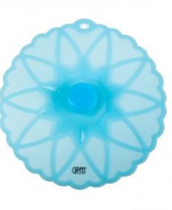 2857 GIPFEL Крышка силиконовая 23,5х23х2,8см Синий цвет Мате