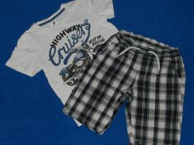 Комплект Palomino, футболка и шорты, 110-116 см