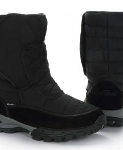 Дутики мужские King Boots KB710SW Schwarz Черный