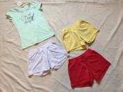 Новые вещи для девочки на р. 146 шорты , спортивные костюмы , футболки