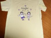 Салатовая футболка Grishko