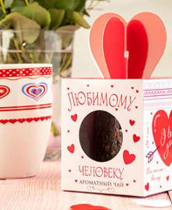 """Чай-подарок """"Любимому человеку"""""""