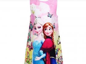 Платья с Эльзой и Анной,  1300 руб.