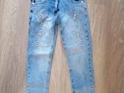 2 пары новых джинс д/д 134/140