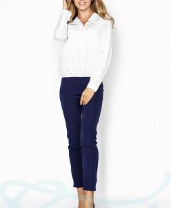 Свободная однотонная блуза Gepur