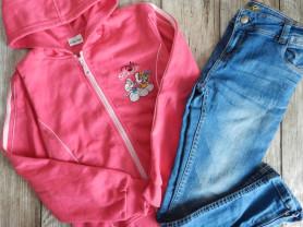 Толстовка+джинсы 134-140