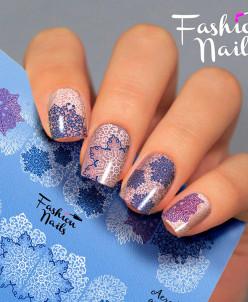 Fashion Nails, Слайдер-дизайн Aerography 42