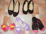Пакет новой обуви р. 36 шлепки балетки 5 пар