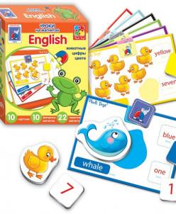 Уроки на магнитах - English. Животные от Vladi Toys