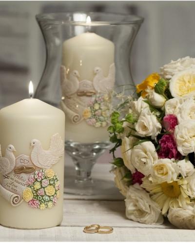 свеча Свадебные Колонна 70*150