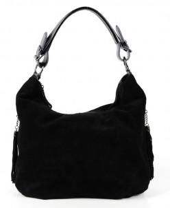 Женская кожаная сумка 2959-3 Блек