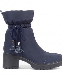 Дутики King Boots KB603 Blau Синий
