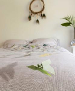 Комплект постельного белья Бабочки, 2-х спальный