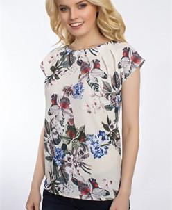Блуза #3960 (Молочный)