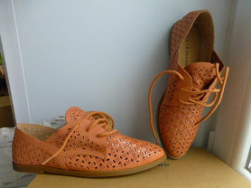 ботинки Lucky Brand, нат.кожа, р.36, новые