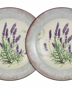 Набор из 2-х суповых тарелок Лаванда