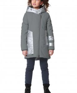 """Пальто """"Кантаре"""" серый"""