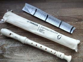 Блокфлейта Yamaha YRS-23 б/у