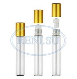 Роллер (10 мл) + металлическая крышка (золото)