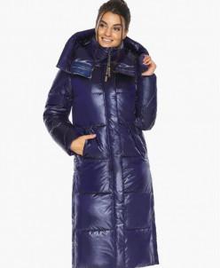 Воздуховик синий женский модный зимний модель 41565
