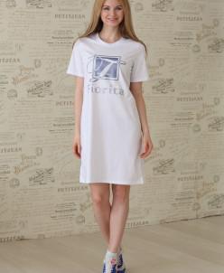 Платье - футболка FS 2266