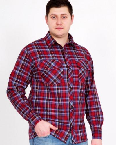 Рубашка шотландка Д/Р Арт. 1871