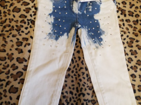 Новые джинсы р. 5 Microbe Италия