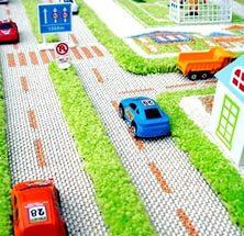 Ковер «Трафик» зеленый 134*180
