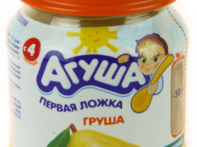 фруктовое пюре агуша