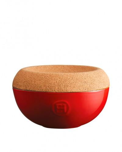 348761 Емкость д/хранения соли, цвет гранат