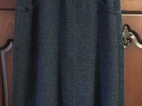 Шерстяная юбка размер 54-56