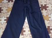 Спортивные брюки демикс р. 116, мало бу, цвет темн