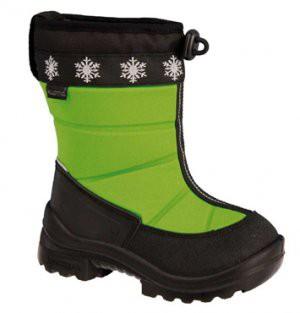 Зимние сапоги на утяжке Lumieskimo Neongreen Kuoma