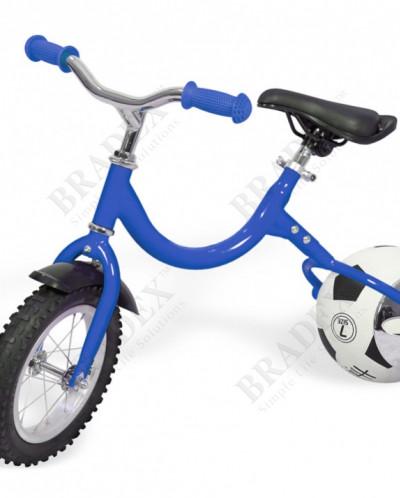 Беговел с колесом в виде мяча «ВЕЛОБОЛЛ» синий (Bike on ball