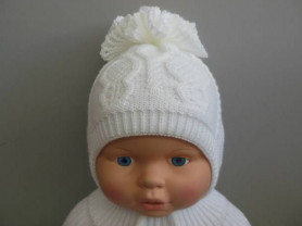 Красивые шапочки для малышек.