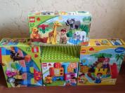 Наборы Lego DUPLO для детишек от 1 до 5лет.