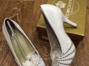 Белые туфли 35-36