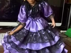 фарфоровая кукла из Испании