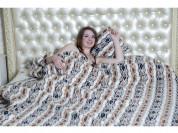 Одеяло из натуральной шерсти мериноса.(фольклор)