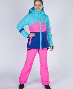 Горнолыжный костюм Snow Headquarter В-8763, Розово-голубой