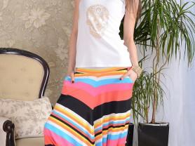 дизайнерские брюки, размер 48-50