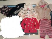 Красивая одежда для девочки. 6-24мес
