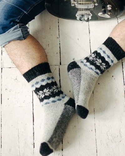 Носки шерстяные N6R66-2