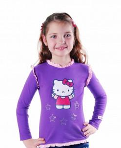 "Кофта ""Hello Kitty"" (фиолетовая)"