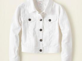Белая джинсовая куртка Childrens Place на 5/6 лет